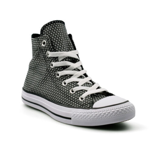 Converse CTAS Chuck Taylor All Star Hi Snake Woven Black Women/'s Trainers Sale