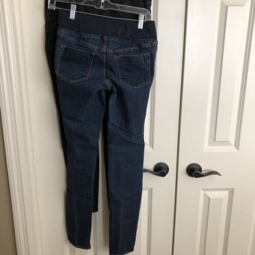 Maat 2 Low Black Jeans Veel Navy Maternity Dark Super Skinny Rise Old gd60q