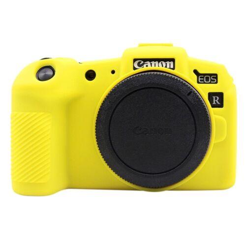 Custodia protettiva in silicone gomma più colori per fotocamera Canon EOS RP