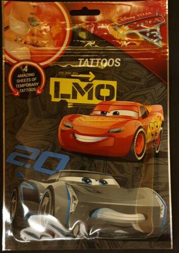 Enfants Sac De Fête Cadeaux-Disney Pixar CARS 3-tatouages