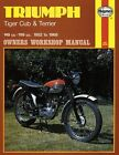 Triumph Tiger Cub and Terrier Owner's Workshop Manual by Pete Shoemark (Paperback, 1965)