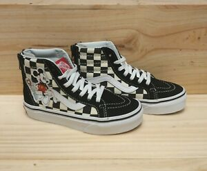 Details about Vans X Disney Sk8,Hi Zip Shoes 80\u0027s Mickey Mouse Size 11.5  Kids youth