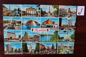 Glorieux Carte Postale Vue Carte Berlin Salutations De Berlin-afficher Le Titre D'origine Convient Aux Hommes, Femmes Et Enfants