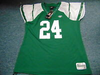 WOMEN'S REEBOK NFL EQUIPMENT NEW YORK JETS DARRELLE REVIS FLIRT JERSEY SIZE XL
