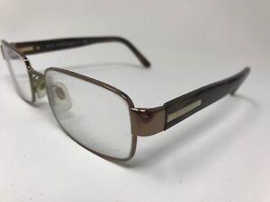 da81f5726323 BURBERRY Eyeglasses Italy B1079 1016 52-19-140 Brown Marble PB24