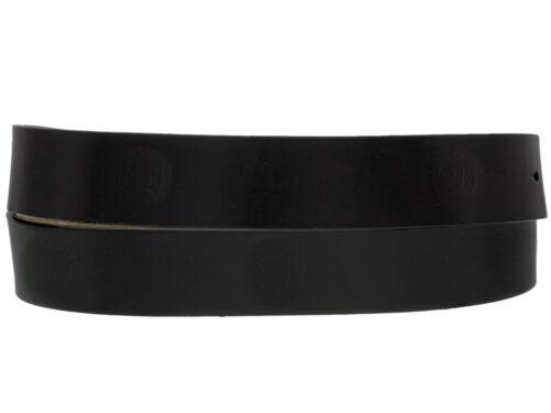 Men/'s Black Genuine Leather Belt Dress Plain Casual Dress Style Square Buckle