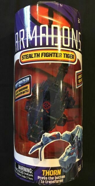 Armados Fighting Drone Stegosaurus Motorized Action Figure Xylon