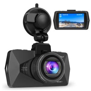"Crosstour In Car Dash Cam DVR Camera 1080P FHD Video Recorder 2.7"" LCD 170Â Wide"