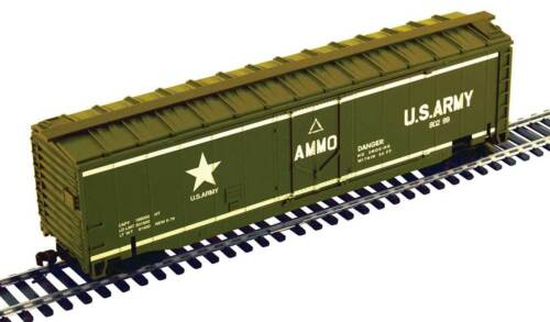 Pista h0-Exploding Boxcar US Army -- 99164 nuevo
