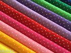 Polka Dot Spot Spotty Wool Blend Felt Fabric Square - Choice of Colours