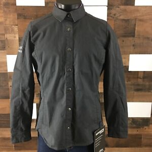 Kuhl Women's Generatr Work Bomber Jacket Snap Button Up Flannel Lined Sz Large