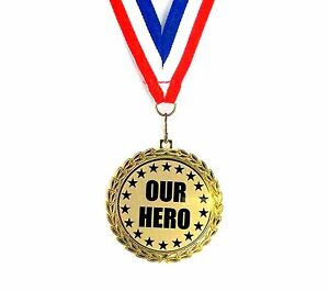 Our-Hero-Medal-2-1-2-Inch-Bright-Gold-Finish-Free-Neck-Ribbon