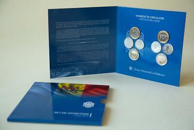 set 4 coins 1 2 5 10 Lei 2018 UNC Lemberg-Zp Moldova