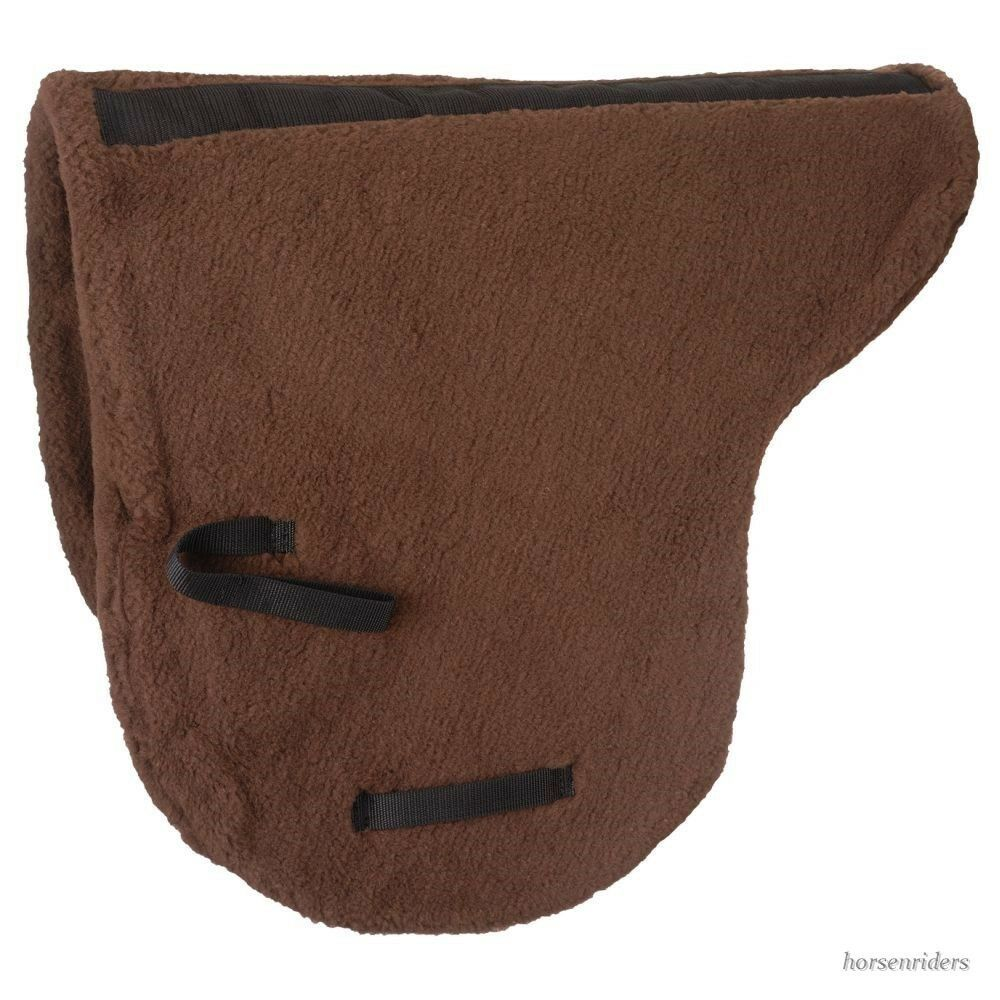 Australian  Saddle Pad - Deluxe Fleece - Outrider Collection - Brown  sale