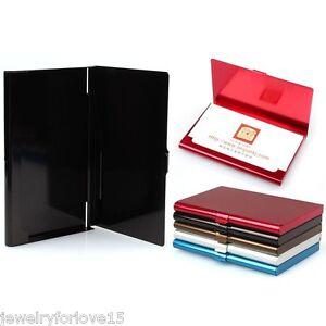 Visitenkartenhalter-Visitenkartenbox-Visitenkarten-Etui-KartenCard-Box-Neu