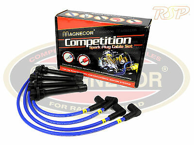 Magnecor 8mm Ignition HT Leads Wires Cable Lancia Delta HF Turbo 1600i 1987-1993