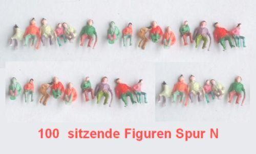 1000 Sitzende Figuren für Spur N (Neu) VERSAND FREI    Aktion   - E050