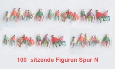 VERSANDFREI Konvolut 200 Verschiedene sitzende Figuren N SPUR SUPER PREISE!