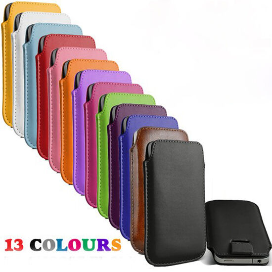 13 colour bulk Leather Pouch Case Bag for nokia lumia 630 920 925 1020 EOS Cover