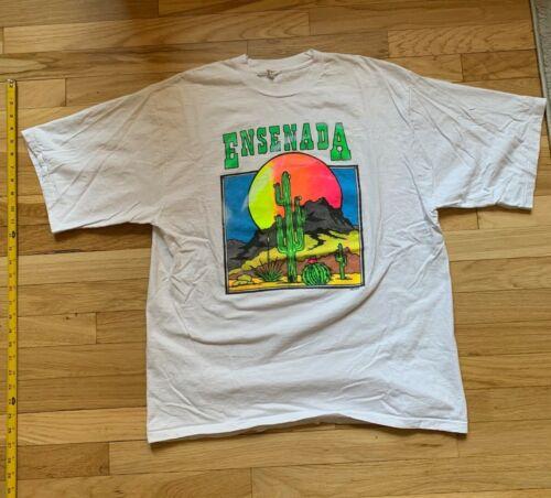Vintage 90s Shirt Ensenada Mexico XL White