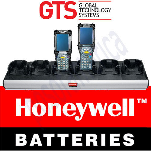 GTS BATTERIES HCH-9060-CHG MC9000 Charger 6 Bay Cradle Power Supply OEM NEW