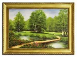 Oil-Painting-Pictures-Hand-Painted-with-Frame-Baroque-Art-G96491