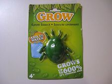 GROW INSECT-ADD TO WATER-GROWS UP TO 600% - NEW AND IN ORIGINAL SEALED PACKAGE
