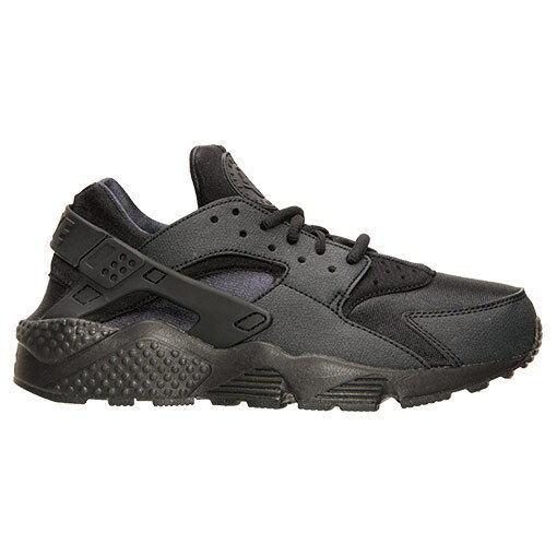 best loved c7765 36bf7 AUTHENTIC NIKE Air Huarache Run Triple Black All Blk Blk Blk Mesh 634835  009 Women size