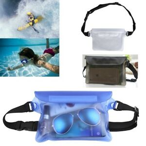 daf07dcea593 Details about Waterproof Underwater Waist Belt Bum Bag Beach Swimming  Boating Dry Phone Pouch
