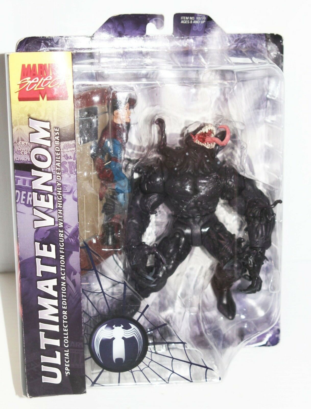 Marvel Select Ultimate Venom 7in Action Figure Diamond Select Toys NEW Spiderman
