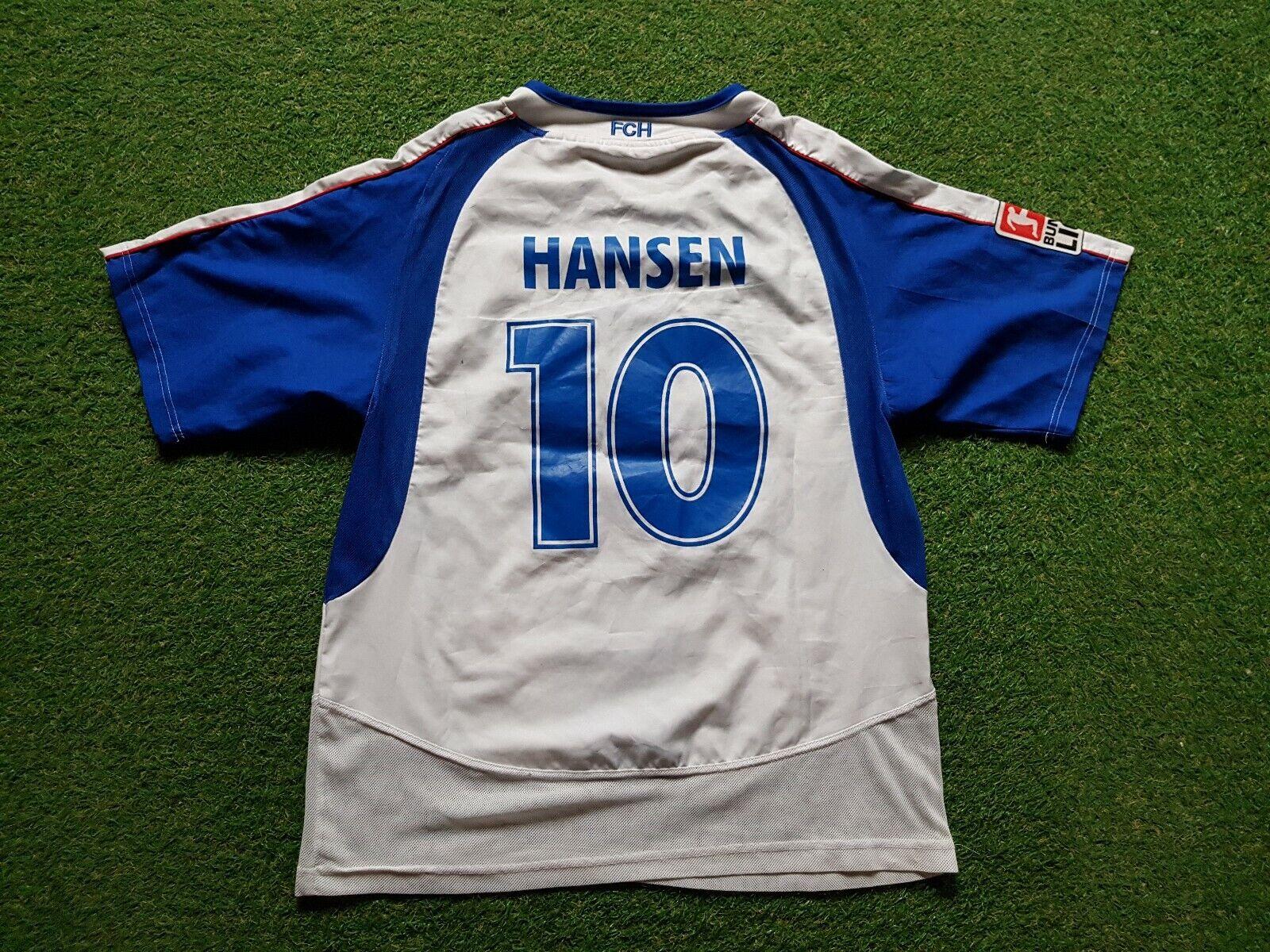 FC Hansa Rostock Maglia S 2005 2006 Jako Camicia 40 40 40 Anni Anniversario Neue Leben 630