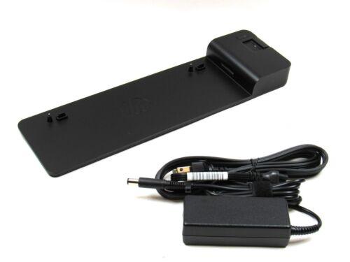 HP D9Y19AV EliteBook 2013 UltraSlim Docking Station w// HP 65W Power Adapter