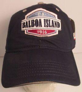 Image Is Loading Balboa Island Hat Cap California Newport Beach Usa