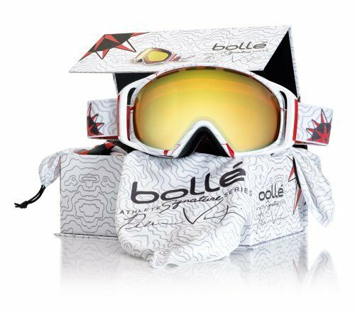 Bolle Gravity Athlete Signature Series Pierre Vaultier Snow Goggle Citrus gold