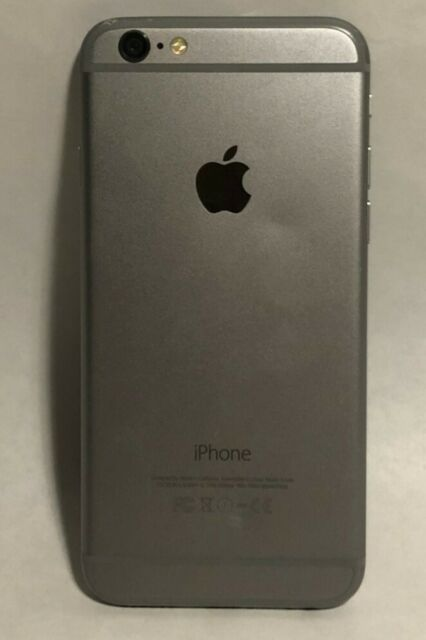 Apple iPhone 6 - 64GB - Space Gray (Unlocked) A1586 (CDMA + GSM)