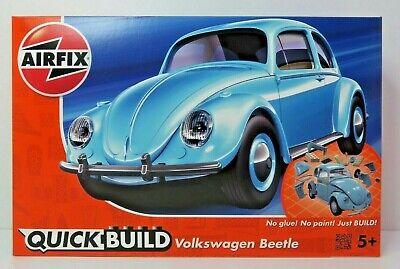 AIRFIX QuickBuild Kleber und Farbe nicht erforderlich VW Beetle,Käfer,Bausatz