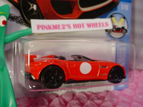 Case B//C 2016 Hot Wheels /'15 JAGUAR F-TYPE PROJECT 7 #111 ✰Red; y5✰HW SHOWROOM