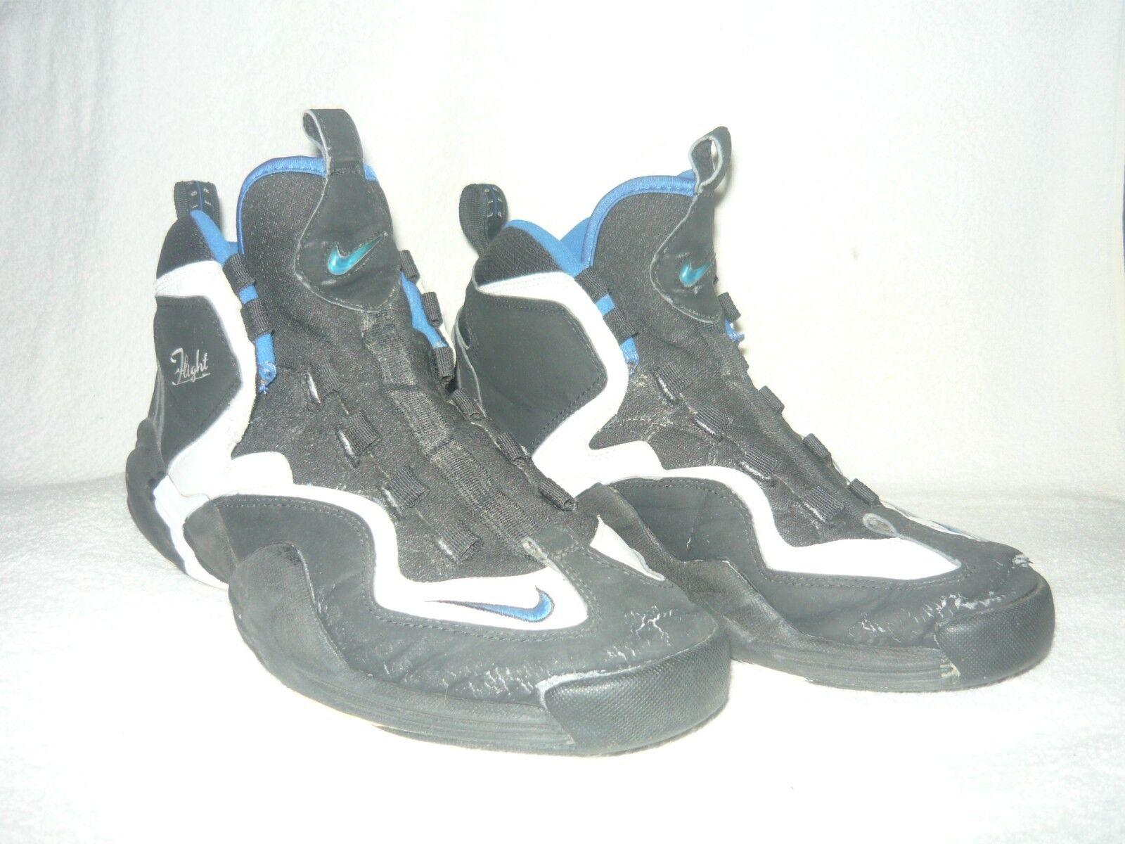 Nike LWP 130213-011 tamaño 11.5 11.5 tamaño Air Go Negro-Blanco-Azul 2018 Original f75753