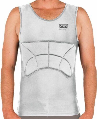 Ocean And Earth Mens Grey Rib Guard Padded Vest