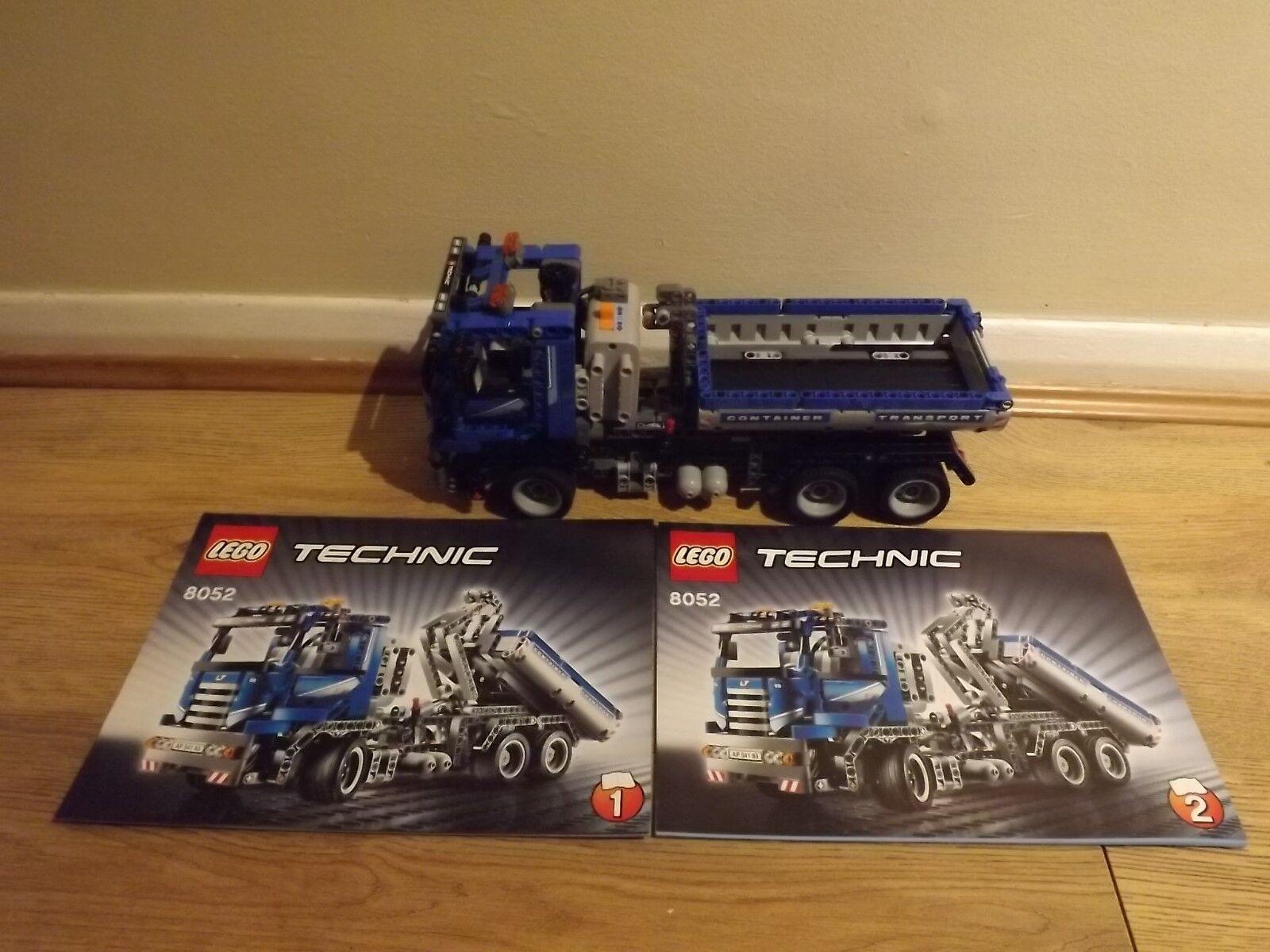 Lego Technic 8052 Camión Contenedor-Conjunto retirado - 100% COMPLETO-ex condición