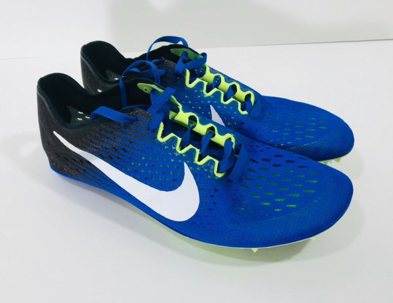 New Nike Zoom Victory Elite 2 Men's Size 5.5 & 6 Track Spikes 835998-413 bluee