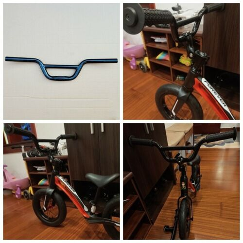 25.4x520mm Bicycle BMX Handlebar Aluminium Alloy Kid Cycling Bike Bar Black Home