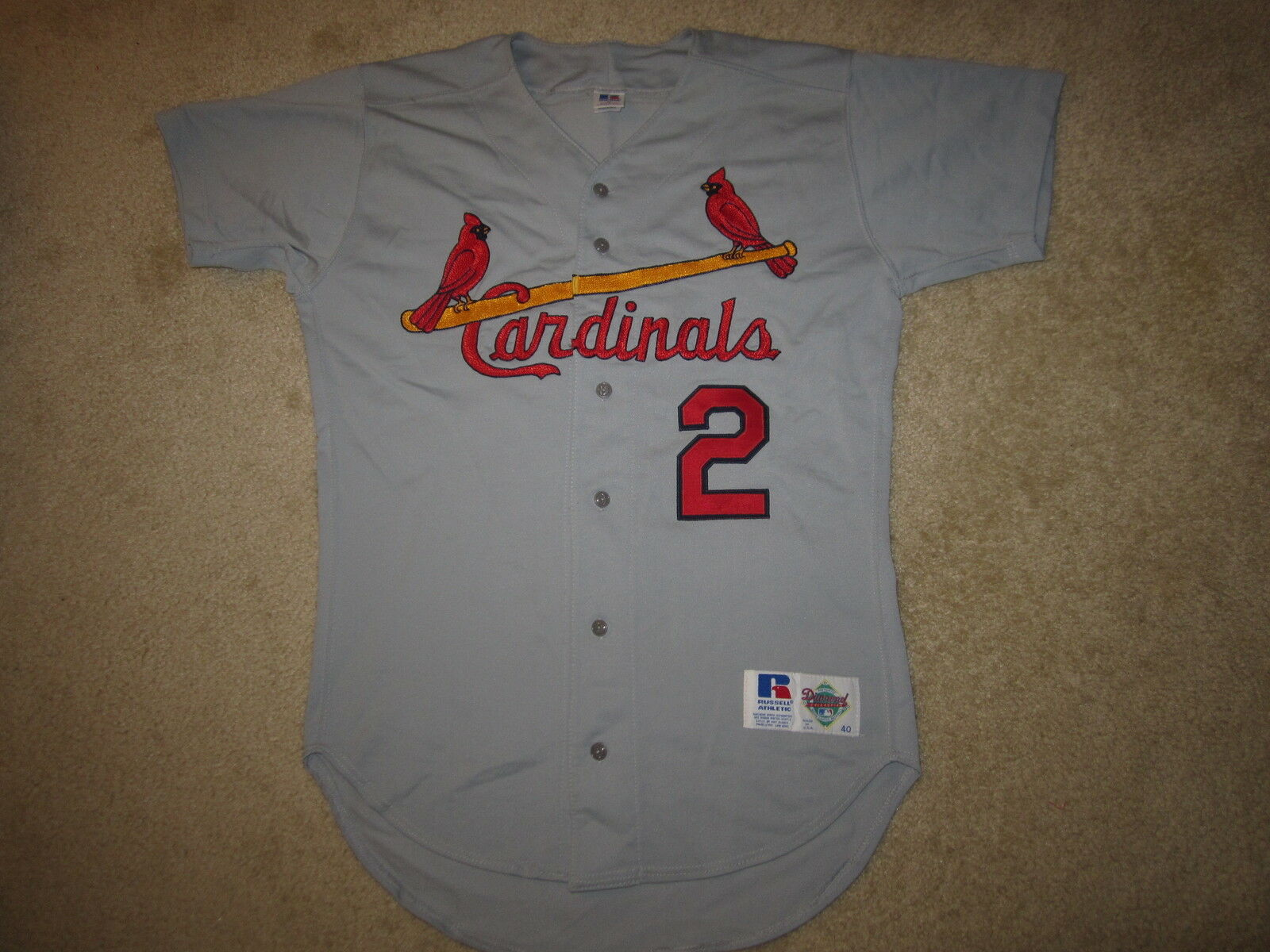 St. Louis Cardinals  2 Russell Athletic Athletic Athletic Merrill Camiseta 40 517fba