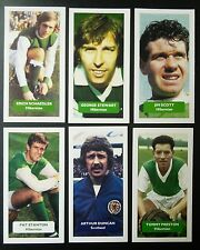 Group of 6 Hibernian Score UK football trade cards STANTON DUNCAN SCHAEDLER +++