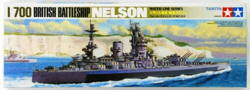 Tamiya 77504 British Battleship NELSON 1/700 scale kit