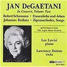 Jan Degaetani In Concert, Volume Two (1991)