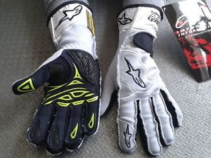 GUANTI-AUTO-OMOLOGATI-ALPINESTARS-TECH-S-RACING-GLOVES-RALLY-GREY-GUANTES