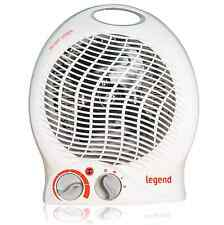 2000W 2kW ELECTRIC FAN HEATER UPRIGHT HOT & COLD AIR PORTABLE FLOOR SILENT WHITE