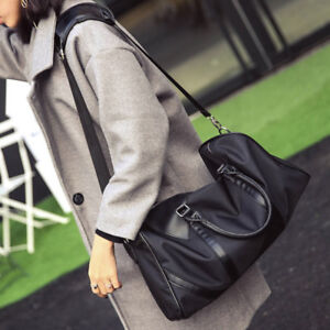 New-Large-Unisex-Weekender-Bag-Overnight-Handbags-Friendly-Carry-on-Luggage-Tote