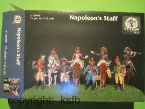 1-32-Waterloo1815-090-Napoleon-Frankreich-General-Stab-French-High-Staff-Figuren